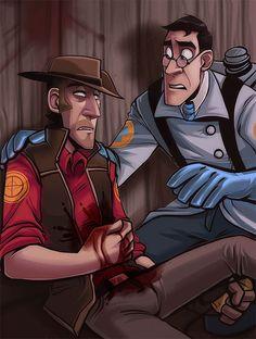 Team Fortress 2 Medic x Sniper!