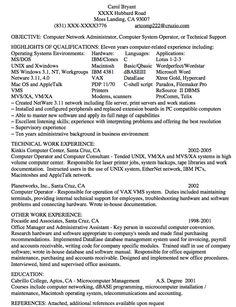 computer network administrator resume sample httpexampleresumecvorgcomputer cover letter network administrator