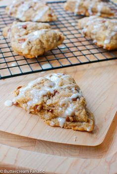 Homemade Starbucks Cinnamon Scones (copycat recipe)