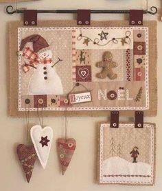 Free Holiday Quilt Patterns - Holiday Wall Hanging Patterns ... : christmas wall hanging quilt patterns - Adamdwight.com