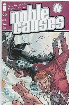NOBLE CAUSES #22 Image Comics 2nd series Sex Secrets and Super Powers