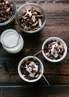 The perfect granola for me!: Mocha Coconut Granola @Lisa Lear Baker | Kitchen Confidante