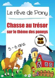 Une chasse au trésor sur le thème du poney pour les enfants de 5-6 ans