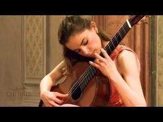 Ana Vidovic plays Asturias by Isaac Albéniz - YouTube