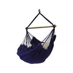 Hangstoel Azuur. € 99,99 Braziliaanse hangstoel met prachtige diepe azuur blauwe kleur. Topkwaliteit hangstoel met een enorm lange levensduur. Heerlijk om in te luieren of een boek te lezen.