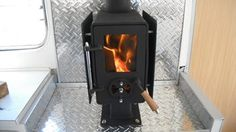 FLICK THE LITTLE FIREPLACE    Free shipping in NZ if bought with buy now    This is a new mini wood fire just right to heat your motor home / bus /caravan/  por...