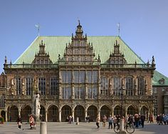 The Townhall in Bremen, Germany (UNESCO)Been here already