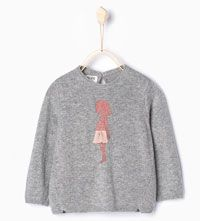 Shimmer knit sweater-Tops-Baby girl (3 months-4 years)-COLLECTION AW15 | ZARA Hungary