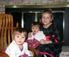 November 2011, Rylie, Emma, and Mali