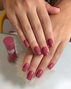 Cute Nails, Pretty Nails, Gorgeous Nails, Gel Uv Nails, My Nails, Nail Polish Designs, Nail Art Designs, Nail Paint Shades, Bridal Nail Art