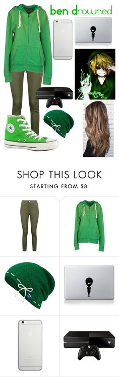 """BEN Drowned"" by chxmicxlrxmxnce on Polyvore featuring Boohoo, Converse, 40WEFT, Keds, Vinyl Revolution, Native Union and Microsoft"