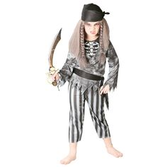 Disfraz de Pirata Fantasma Niño #disfraces #halloween