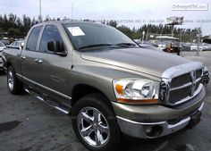2006 #Dodge Ram 1500 for Sale at Salvage #Trucks Auction. Get register and place your bid.