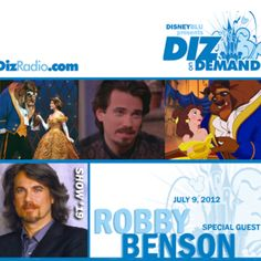 Special guest ROBBY BENSON, the beast. Dizradio.com