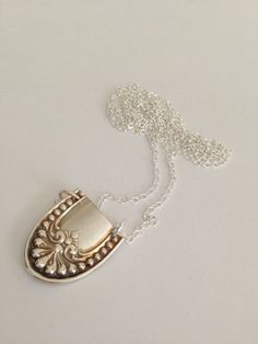 Spoon necklace Spoon Jewelry Silver Spoon by GeorginaBaker on Etsy, $36.00 by mariana