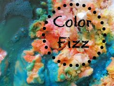 {Toddler Exploration} Color Fizz :: Reggio inspired :: open ended :: science and art experience for toddlers using baking soda, vinegar, and food coloring :: from A Life Sustained