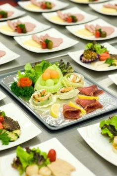 Airline meals -- process of making airline food