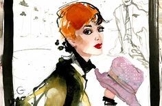 Paolo Galetto   Fashion Illustration