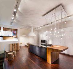 Elegant Solid Wood Italian Kitchen Design