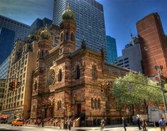 AMONG MANHATTAN WONDERS, THE NEW YORK CENTRAL SYNAGOGUE