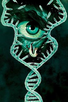 #Hulk #Fan #Art. (Hulk's DNA) By: Mike DelMundo. ÅWESOMENESS!!!™