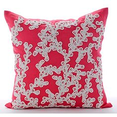 Coral Throw Pillows Cover, Sea Weeds Lace Sea Creatures O... https://www.amazon.com/dp/B016H8VQ1A/ref=cm_sw_r_pi_dp_x_Re39xbF0Z804N