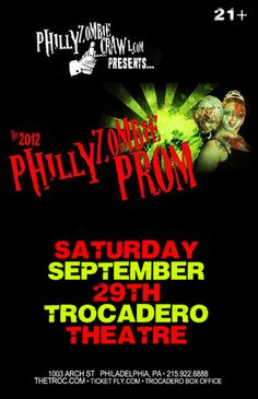 The 2012 Philly Zombie Prom