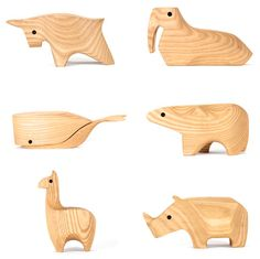 CHaLK NYC Gift Guide: wood animals Areaware #chalknyc #chalkaholic #holiday #gifts www.chalknyc.com