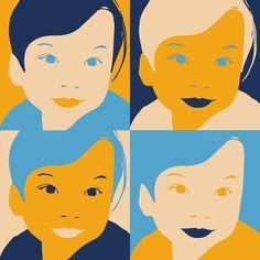 Illustrator Arjen Aué maakt van iedere foto een moderne Popface zonder geautomatiseerde programma's. Alles wordt met de hand gemaakt. Iedere Popface is hierdoor uniek en omdat het geen app is die automatisch een avatar genereert, is het heel anders dan alle andere profieltekeningen. Ouderwets handwerk dus, in een modern jasje.