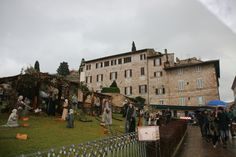 Presepe in Assisi, Italy
