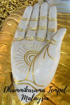 Hand of the Buddha of the Dhammikarama Temple in George Town Malaysia Taiwan, Vietnam, Buddha, Borneo, Leather Backpack, George Town, Wings, Album, Indonesia