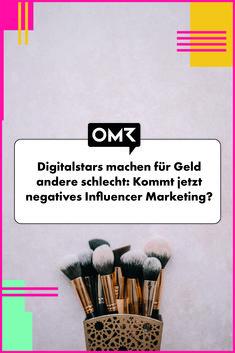 Negatives Influencer Marketing: US-Dollar für ein kritisches Video? Influencer Marketing, Backdrops, Business, Scene, German, Products
