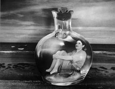 Grete Stern :: Botella del mar (Sueño Nº 5), 1950