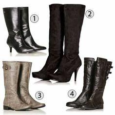 Botas de todos os tipos para o inverno, dicas de como usar de acordo com o modelo e o seu tipo físico.
