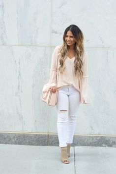 Summer Neutrals Beautiful outfit-Love the top!