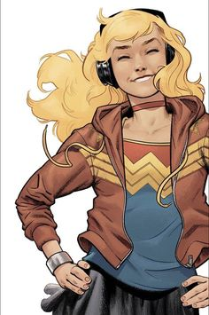Drawing Dc Comics Young Justice Comic Issue 1 Limited Wonder Girl Variant Modern Age First Print - Arte Dc Comics, Dc Rebirth, Captain Marvel, Marvel Dc, Marvel Comics, Dc Comics Girls, Marvel Girls, Character Drawing, Comic Character