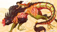 The First Ride by calonarang Mythical Creatures Art, Alien Creatures, Mythological Creatures, Cute Creatures, Fantasy Creatures, Creature Drawings, Animal Drawings, Cool Drawings, Monster Design
