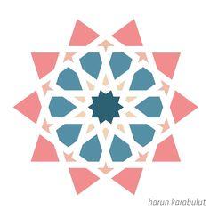 Motifs Islamiques, Islamic Motifs, Islamic Art Pattern, Arabic Pattern, Geometry Pattern, Pattern Drawing, Pattern Art, Motif Arabesque, Islamic Art Calligraphy