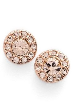 Givenchy Small Crystal Stud Earrings available at #Nordstrom