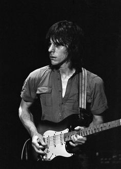 Jeff Beck in Amsterdam, 1979.