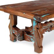Mesquite & Turquoise Tables