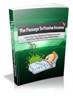 I only put up these kinds of books when they are free - feel free to see if this one has any information you might want - but do the smart thing and download while it's free on 28 September 2012 : The Passage to Passive Income: Learn How to Generate Passive Income and Live the Four-Hour Workweek by John Edgar http://www.dailyfreebooks.com/bookinfo.php?book=aHR0cDovL3d3dy5hbWF6b24uY29tL2dwL3Byb2R1Y3QvQjAwODFOUTNLNC8/dGFnPWRhaWx5ZmItMjA=