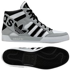 Adidas hard court big logo basketball/dance shoes... I so want these!!!