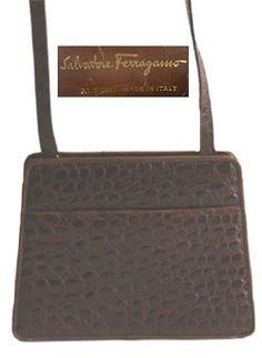 Nothing like a #vintage handbag! #Ferragamo Vintage Designer Purse