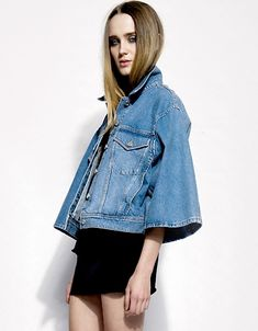 Acne Scarlett Denim Jacket