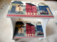 Decoupage Ideas, Country, Frame, Handmade, Painting, Home Decor, Wood Art, Decorative Boxes, Picture On Wood