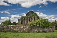 Ruins of St Edan's by Canon Queen Rocks, via Flickr