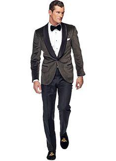 Smoking Dark Grey Plain Jacket - Complete set   € 651  € 499