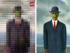 Lego revisite 6 des plus grands tableaux du monde à sa manière