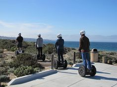 Segway tour in Monterey, California. #segway